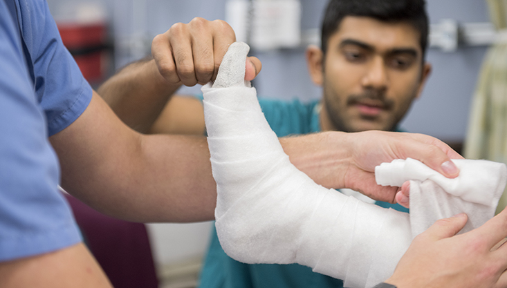 the differences between a sprain strain and tear vital record
