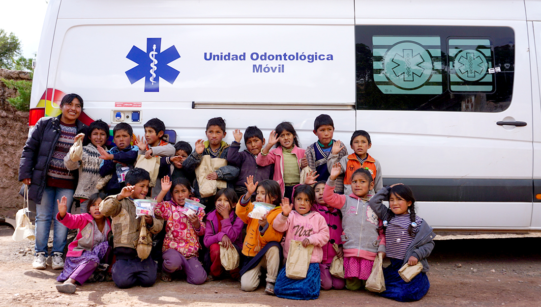 Texas A&M students and faculty served the people of Quesimpuco, Bolivia