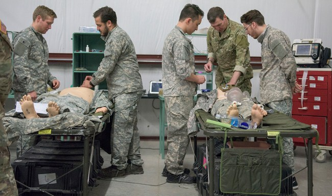 military medicine training course