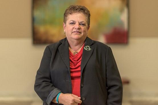 A portrait of Nancy Dickey, MD