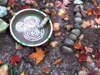 Offering Bowl: Spirals within a Spiral