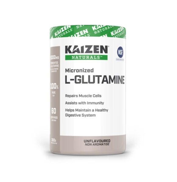 ال جلوتامين Kaizen MICRONIZED L-GLUTAMINE 300g