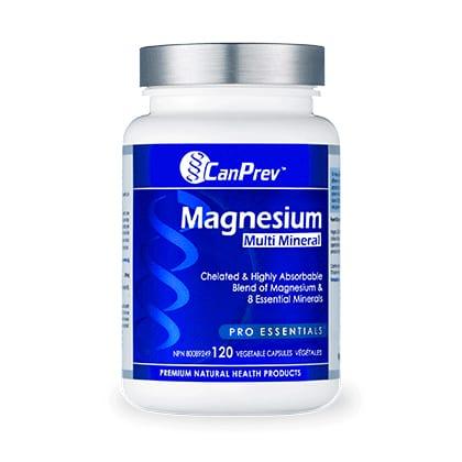 مغنيسيوم ومعادن متعددة CanPrev Magnesium Multi-Mineral 120Vcap