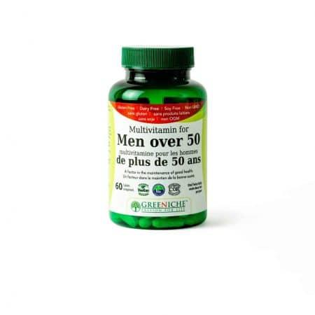 ملتي فيتامين للرجال فوق سن 50 Greeniche Multivitamin for Men Over 50-60tab