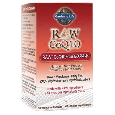 الأنزيم المساعد كيو تن Garden of Life RAW CoQ10