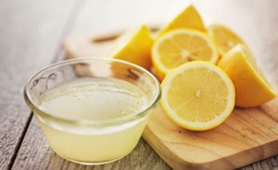 remove stretch marks with lemon
