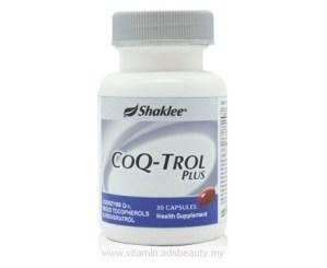 Harga CoQ-Trol Shaklee Harga Shaklee CoQ-Trol Harga CoQ-Trol Plus