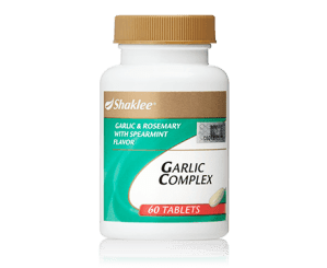 Harga Garlic Complex Shaklee 2016