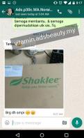 Testimoni Shaklee Customer Feedback