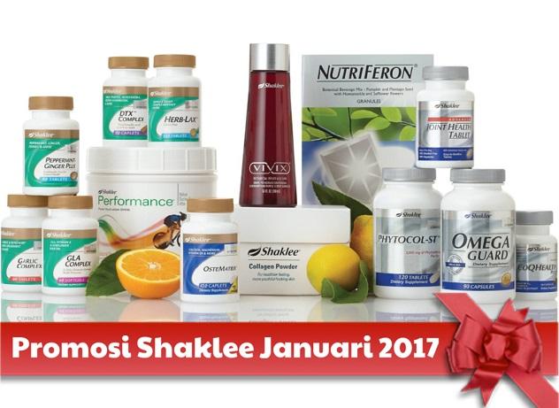 Promosi Shaklee January 2017