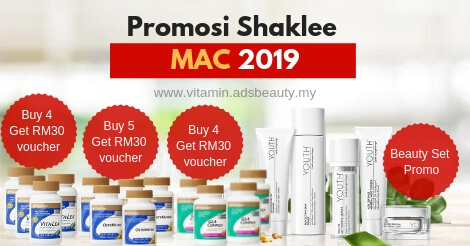 Promosi Shaklee Mac 2019 Promosi Shaklee March 2019