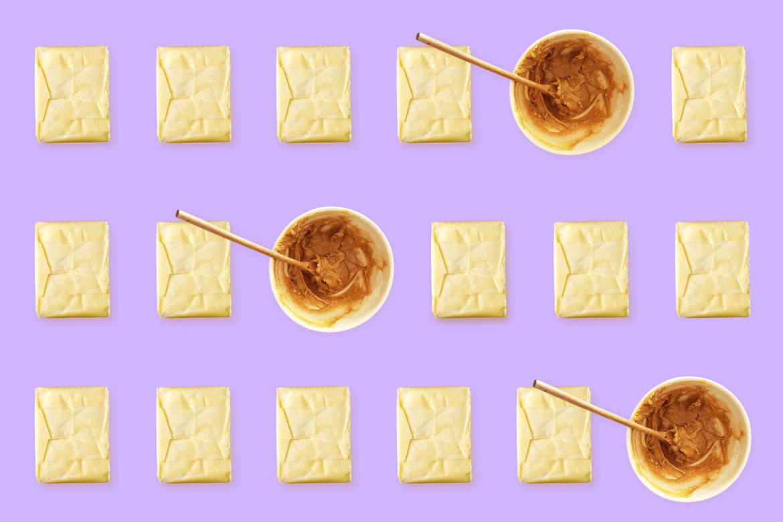 Versus de mantequillas: maní y almendra