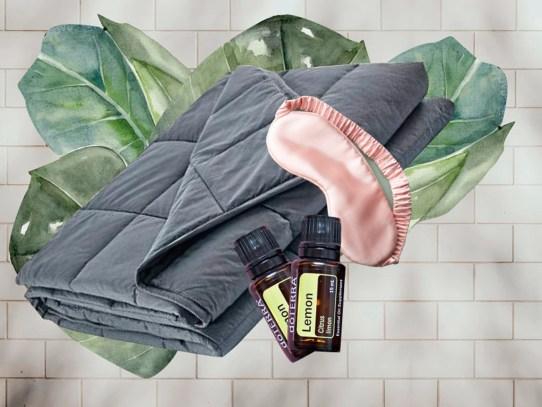 ¿Sufres de insomnio? Quizás deberías conseguir una manta con peso
