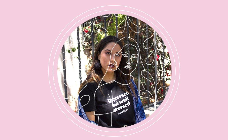 """Carolina Díaz: """"Ser bipolar no es cambiar de opinión a cada rato"""""""