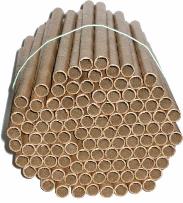 cardboard mason bees