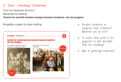 lespakket educatieve methode educatief materiaal
