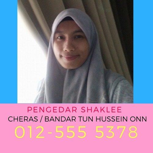 Pengedar Shaklee Cheras, Bandar Tun Hussein Onn Dan Alam Damai