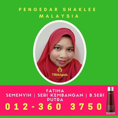 Pengedar Shaklee Semenyih, Seri Kembangan & Bdr Seri Putra 012-3603750
