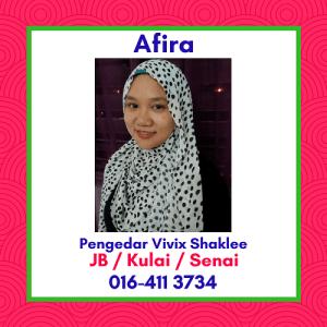 Pengedar Vivix Shaklee Johor Bahru, Kulai, Senai - Agen Vivix Shaklee JB - Stokis Shaklee Johor Bahru