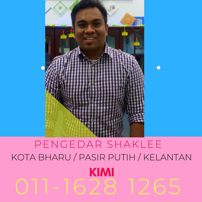Pengedar Shaklee KB Kota Bharu dan Pasir Putih Kelantan - Shaklee KB