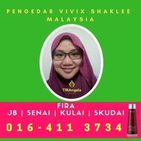 Pengedar Shaklee / Pengedar Vivix Shaklee Johor Bahru, Kulai, Senai, Skudai dan Singapore