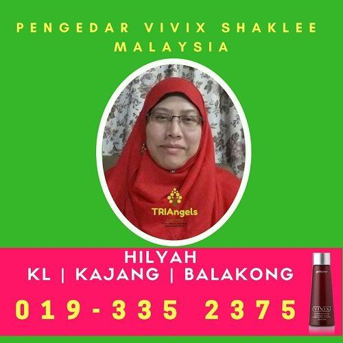 Pengedar Shaklee Kuala Lumpur - Pengedar Vivix Shaklee Kuala Lumpur - Agen Vivix Shaklee Kuala Lumpur -Stokis Vivix Shaklee KL - Pengedar Shaklee Kajang - Shaklee KL