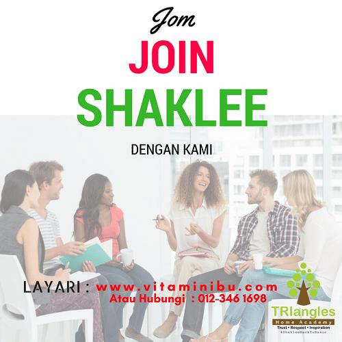 Cara Daftar Jadi Ahli Shaklee Untuk Buat Bisnes Shaklee