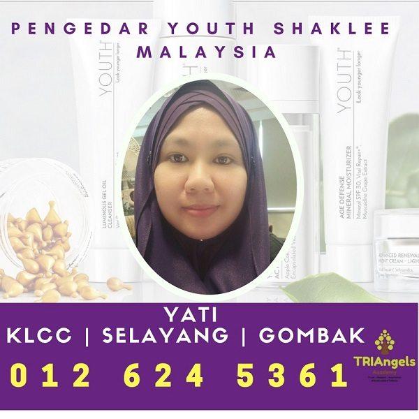 Pengedar Shaklee Youth Kuala Lumpur - Agent Youth Shaklee KLCC - KL - Selayang - Gombak