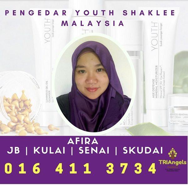Pengedar Youth Shaklee JB, Singapore, Skudai, Senai, Kulai - Agen Youth Shaklee Johor Bahru