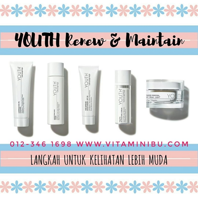 Youth Shaklee - Harga Youth Shaklee - Shaklee Youth Renew & Maintain Set