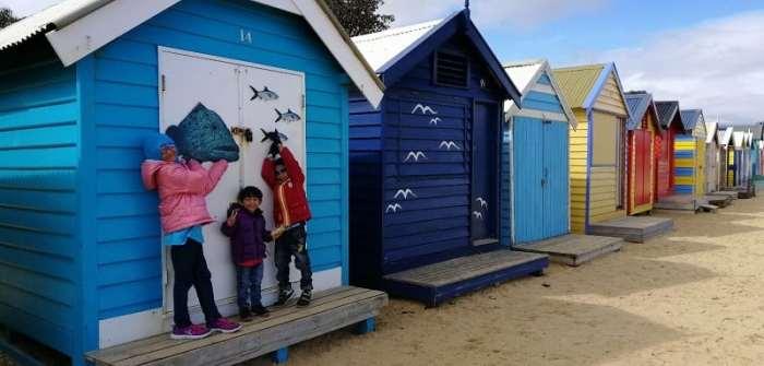Bercuti Ke Melbourne Dengan Anak Kecil - St Kilda Beach - Brighton Box Melbourne