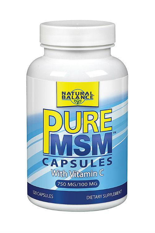 PureMSM w/Vitamin C 1000 mg 120 ct $12.68ea from Natural ...