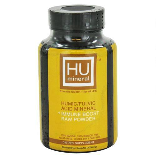Humic/Fulvic Acid Mineral Immune Booster Raw Powder 60 cap ...