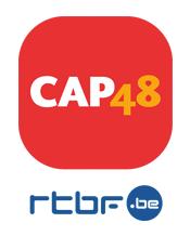 Logo de Cap 48, opération visant à aider les personnes handicapées, une initiative de la rtbf