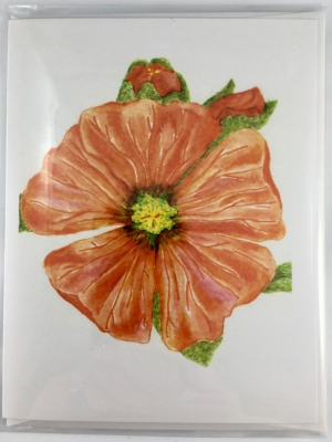 Globemallow card front