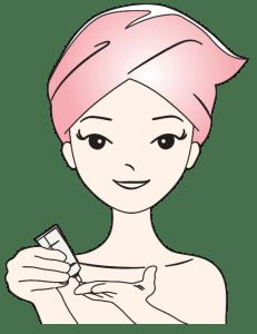 APPLICAZIONE INSTANT AGEBACK trattamento professionale antirughe effetto LIFTING