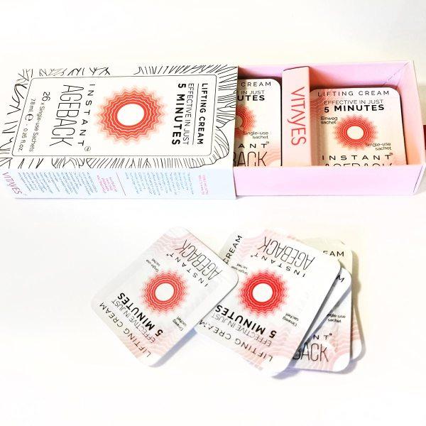 INSTANT AGEBACK crema lifting antirughe - formula in gel 10% Argireline - effetto lifting istantaneo e trattamento antirughe in un unico prodotto