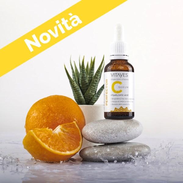 Vitamina C concentrata e acido ialuronico - Siero PERFECTOR C Vitamin - anti rughe