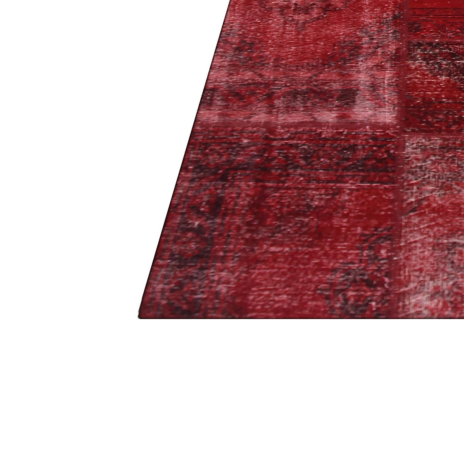 Teppich Patchwork Patchwork Teppich Orange Curry In 240x160cm 1001