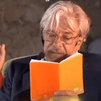 La goccia, poesia letta da Giancarlo Giannini