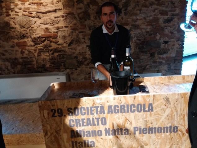 """Luigi Armanino durante la 1a convention """"La Terracotta e il Vino"""" a Impruneta (Novembre 2014)"""