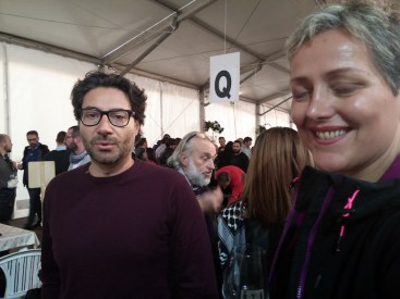 Mario Basco con Agnese