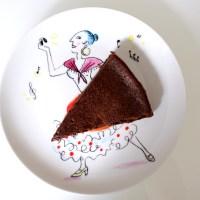 Gâteau au chocolat sans beurre mais à la compote de pommes