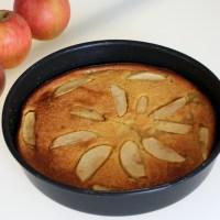 Gâteau pomme et compote pomme ananas (léger)