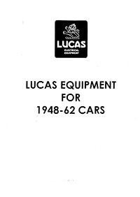 Vitessesteve Lucas Manuals