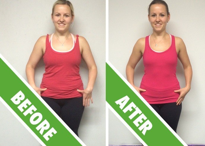 Personal Training Sydney - Fat Loss Client Jitka