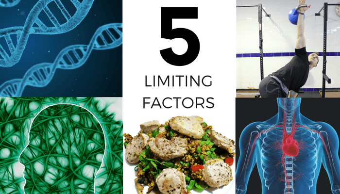 Five limiting factors that affect your personal training results