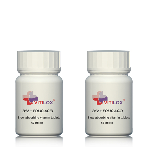 Stress relief - Vitilox Vitamin B12 & Folic Acid