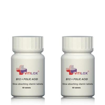 Vitilox® Vitamins B12 & Folic Acid - 2 Pack