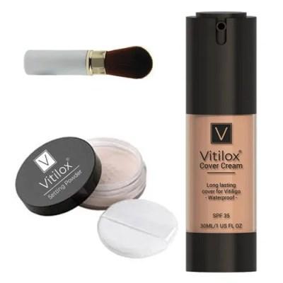 Vitiligo Cover Cream Kit